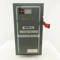 Cutler Hammer DH362N 600V 60A 3 Pole 3Ph Fused Safety Disconnect Switch