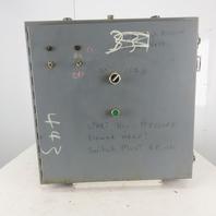 """Hoffman 24x24x6"""" Hinged Door NEMA 12 Electrical Enclosure"""