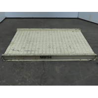 """33""""x48"""" Ball Transfer Conveyor Table Plate 30"""" BF For 1"""" Balls on 2"""" Centers"""