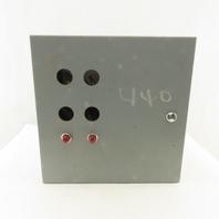 """Austin K-4195 12""""x12""""x6"""" Type 1 Electrical J-Box Control Enclosure"""