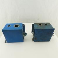 "Hoffman 6x6x4"" Electrical Enclosure J-Box Lot Of 2"