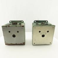 "6 x 6 x 4"" Electrical Enclosure J-Box Lot Of 2"