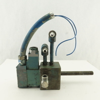 Rexroth 4WE6Y52/AG24ND 3 Way Float Center Single Solenoid Hydraulic Valve 24VDC