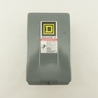 Square D 8502SCG2V02S 600V Non Reversing Contactor NEMA 1 27A 120V Coil