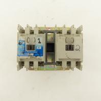 Cutler Hammer CN15B3 600V 18A 3Pole 3PH 5Hp Size 0 Reversing Contactor 120V Coil