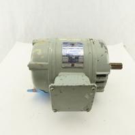 Brook 1Hp 1720RPM 230/460V K143T Cast Iron AC Motor