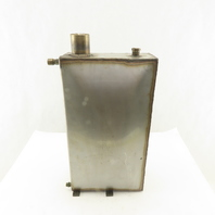"8"" x 14"" x 4"" Stainless Steel Oil Return Reservoir 2 Gallon Capacity"