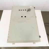 """36"""" x 24"""" x 8"""" Electrical Enclosure W/ 50A Fused Disconnect Back Plate"""