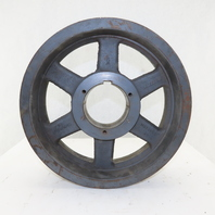 "Browning 20L140R Poly V Drive 20 Grove Pulley 14"" Diameter Bushed Bore"