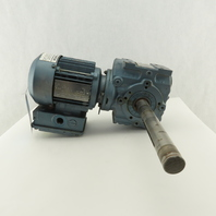 Sew SA47DT71D4-KS 29:1 Ratio 59RPM .5Hp 230/460V Right Angle Gear Reducer