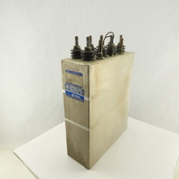 General Electric 19L836TP2 750VDC 750/750uF 350A RMS/SECT 1-3kHz Capacitor
