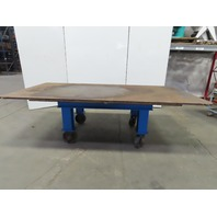 "H.D. 1"" Thick Top Steel Fabrication Layout Welding Table Work Bench 61""x121"""
