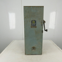Square D Class 8538 Type EG1 Combination Starter Disconnect 440V 50Hp 3 Pole 3Ph