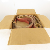 "3M 384F Cubitron Abrasive Cloth Belts Film-Lok 2""x132"" 36 + XF Grade Box of 50"