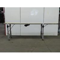 """Dorner 144"""" Center Drive Slider Bed Belt Conveyor 24"""" Wide 144 FPM 230/460V 3Ph"""