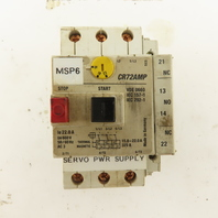General Electric CR72AMP 600V 50/60Hz Manual Motor Starter 15-22A Trip