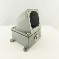 "Appleton AJA510 1-1/2"" Aluminum Powertite HAZLOC Receptacle Box"