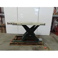 """Southworth LS8-36 8000Lb Hyd. Scissor Lift Table 70""""x43"""" 9"""" to 45"""" High 230/460V"""