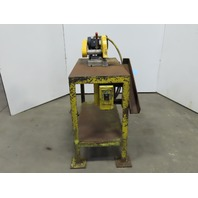 "Everett Model 10 Industrial 3HP 10"" Abrasive Saw 208-230/460V 3Ph W/20x40"" Table"