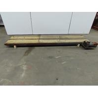 "Heavy Duty 24""W x 120""L Slide Bed Belt Conveyor 115V Single Phase 50FPM"