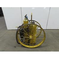 Amerex Model 680 Class D Sodium Chloride Wheeled Fire Extinguisher 150 lb