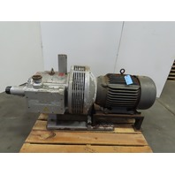 Rietschle 20Hp Rotary Vane Vacuum Pump 230/460V 3Ph