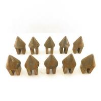 Acorn Conical Rising Block Pyramid Lot of 10