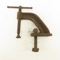 """Acorn Vertical Ductile Iron Arm Clamp 3"""" Throat"""