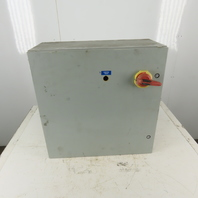 Hoffman CSD2424410 Steel Electrical Enclosure Back Plate & 60A Fused Disconnect