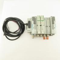 Numatics 8503A R503A2B60MA00F1 Pneumatic Manifold Assembly