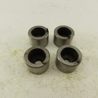 .406 x .469 +.030 Oval Hole CNC Turret Punch Die For 1.5625 Holder Lot Of 4
