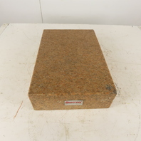 "Starrett 12"" x 18"" x 4-1/2"" Pink Granite Surface Plate"