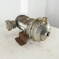 Goulds 1ST1E7D4 1Hp 2875RPM 190/380V 50Hz 3Ph 170GPM Haz Loc Centrifugal Pump