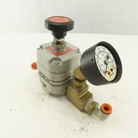 Bellofram Type H10-HR Pneumatic Pressure Regulator 2-120 PSI Range Lot of 2