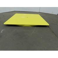 "48""x48"" Pallet/Box /Basket Material Handling 360° Turn table 3"" High"