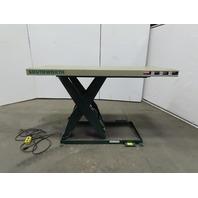 "Southworth LS2-36 2000Lb Hydraulic Scissor Lift 70x30"" Table 115V Single Phase 1Ph"