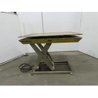 "Southworth 2000Lb Hydraulic Scissor Lift Table 54x42"" Turn Top 115V Single Phase 1Ph"