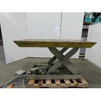 """Southworth L10-36 10000 LB. Hydraulic Scissor Cam Lift Table 70x48"""" Top 460V 3Ph"""