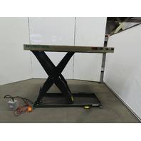 """Southworth LS2-48 2000Lb Hydraulic Scissor Lift Table 66""""x42"""" 208-230/460V 3Ph"""