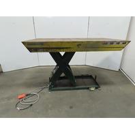 "Southworth LS2-36 2000Lb Hydraulic Scissor Lift 72""x 42"" Table 115V Single Phase"