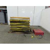 "Beacon EHLT 4048 1.5 1500lb Hydraulic Scissor Lift Table 48x40"" Top 208-230/460V"