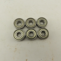 Ingersoll Rand 302-24 Roller Bearing 8mm ID 22mm OD 7mm Wide lot of 6