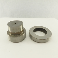 Mate 3.125 + .012 Round Hole Die CNC Turret Punch Shank 4.125 Lot Of 2