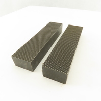 "6"" x 1-1/2"" x 1"" Knurled Vice Jaws Set of 2"