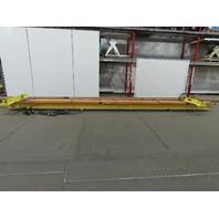 Cignys 1/2 Ton Ceiling Mounted Single Girder Bridge Crane 24' Span x 30' Runway