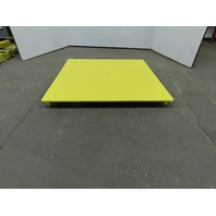 "48""x48"" Pallet/Box /Basket Material Handling 360° Turn table 3-1/2"" High"