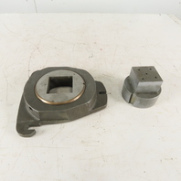 "Warner & Swasey CNC Turret Die Holder For 5"" Die With 2.500 Square Die Punch Set"