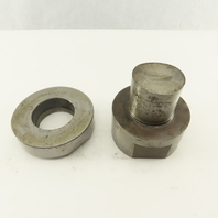 2.000 +.020 Round Hole Die CNC Turret Punch Shank 3.500 Lot Of 2