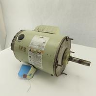 "Dayton XXMTRFY0721D 1/2Hp 1075RPM 48 Frame 5/8"" Shaft 1Ph 110V Electric AC Motor"