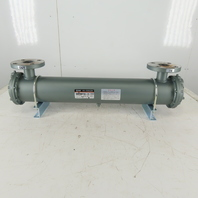 SMC HOW-FSS-10-X22 Water Cooled Heat Exchanger Oil Cooler Chiller 1.0MPa